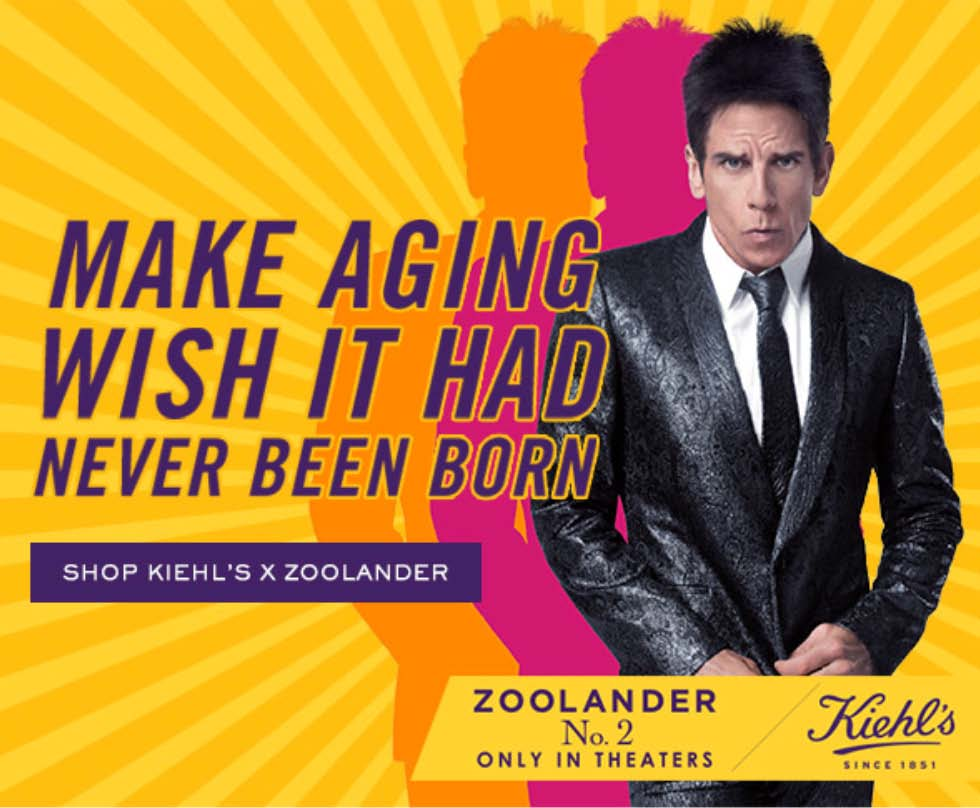 kiehl's and zoolander