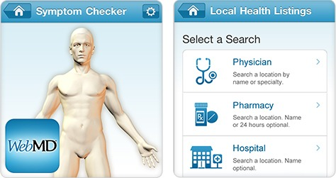 WEB MD Symptom Checker