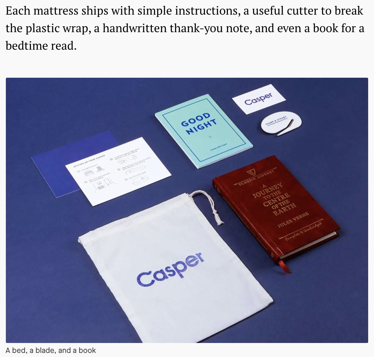 casper hand-written notes